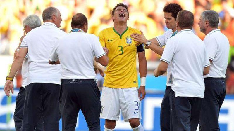 Les larmes de Thiago Silva
